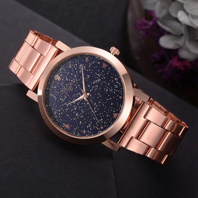 Women Dress Watches Rose Gold Stainless Steel Lvpai Brand Fashion Ladies Wristwatch Creative Quartz Clock Cheap Luxury Watches 4