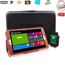 Más reciente Actualización V8.3 Vpecker EasyDiag Wifi Escaner Automotriz Trabajo WIN10 Tablet Vpecker V8.3 Completo Sistemas de Herramienta de Diagnóstico Del Coche