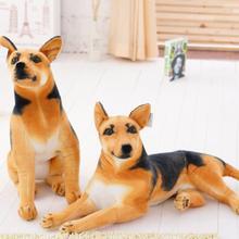 Giant Plush Dog Toy Realistic Stuffed Animals German Dog Shepherd Dog Plush Toys Gift For Children