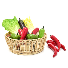 Green Red Artificial Simulation Chili Vegetables Kitchen Toys Kindergarten Garden Family Decoration Handwork DIY Fruit