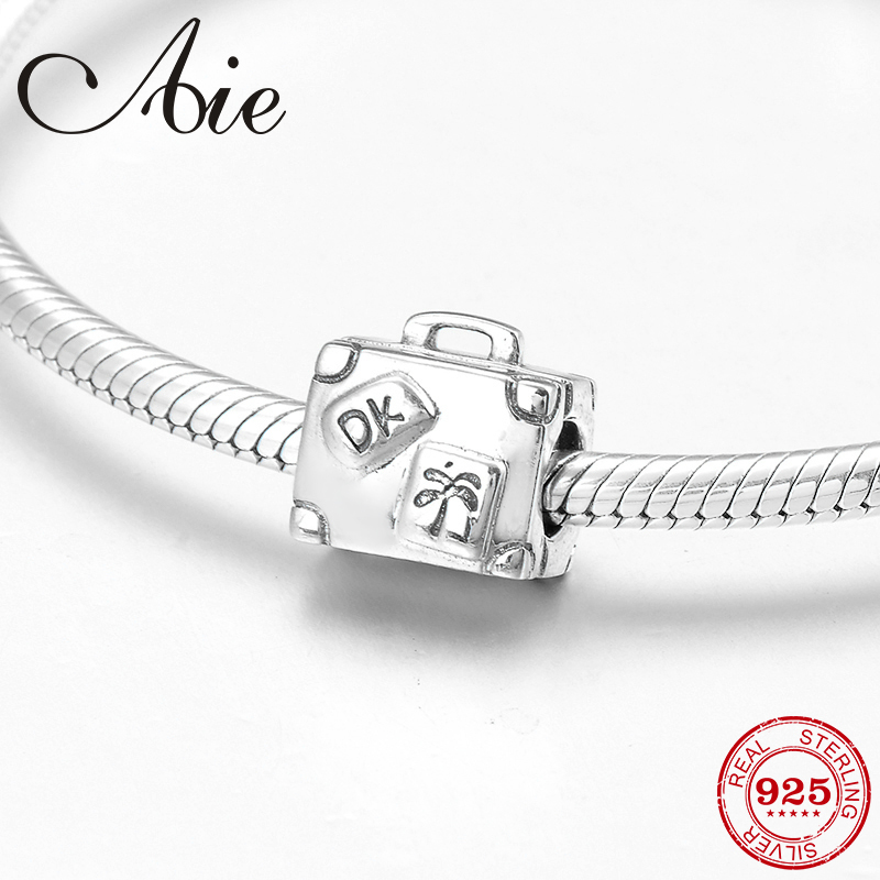 Charms Silver Handbag Charms 925 Sterling Silver Fine Jewelry Fit Charm Beads Bracelets Bangles Diy For Women Wholesale Be233 Discounts Price