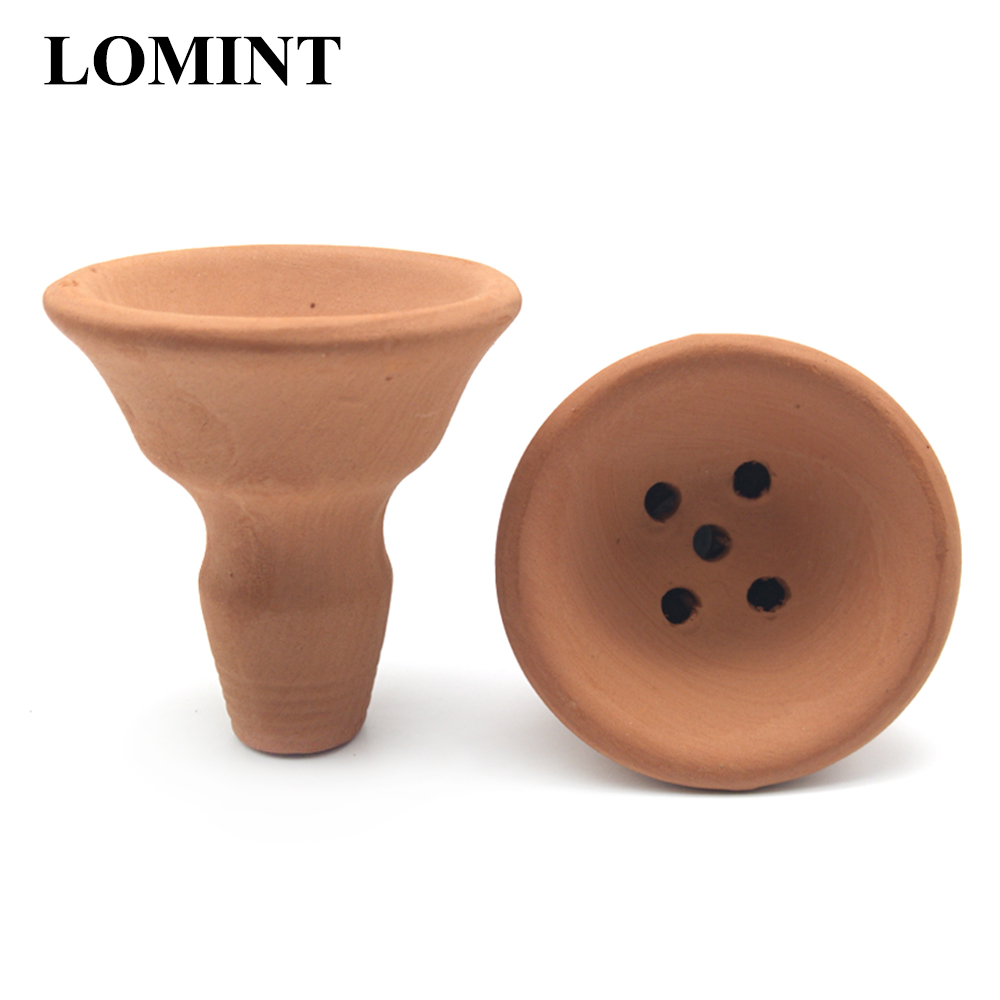 LOMINT Red Clay Hookah Tobacco Bowl For Turkey Shisha Chicha Narguile DIY Accessories Chinese Supplier LM-259