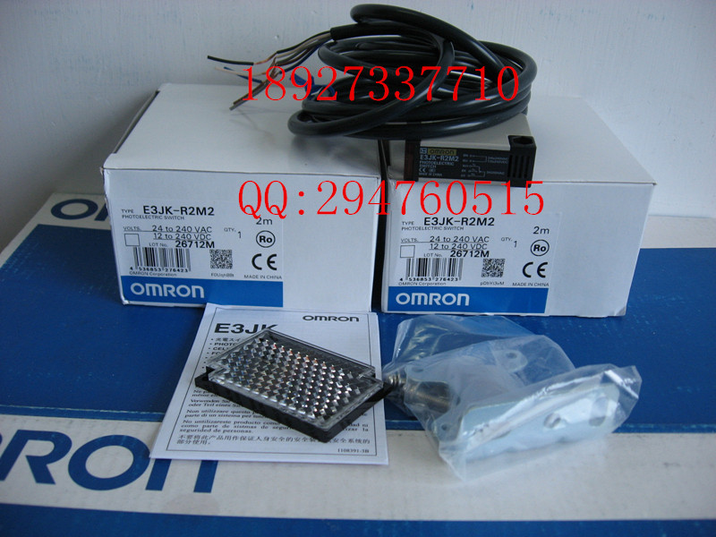 [ZOB] 100% new original OMRON Omron photoelectric switch E3JK-R2M2 / E3JK-RR12-C 2M  --2PCS/LOT [zob] new original authentic omron omron photoelectric switch e3s cl2 2m