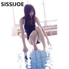 Японские школьные купальники Лолита девушка женщины студентка сексуальная темно-синяя юбка милый аниме косплей Пляж Цельный купальник