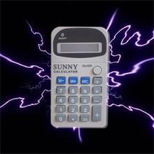 Электрический шок игрушки волшебный трюк Шокирующая игра шалость калькулятор машина реалистичный офис кляп