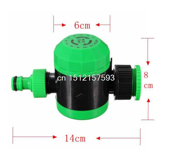 2 Hours Automatic Mechanical Water Timer Sprinkler Irrigation Controller Hose Garden Plant 14x8cm Wholesale electronic garden water timer solenoid valve irrigation sprinkler solenoid valve garden irrigation controller watering system