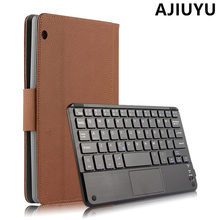Case For HUAWEI MediaPad M3 lite 10 Wireless Bluetooth Keyboard m3 lite 10.0 10.1 inch Case Cover Tablet BAH-W09 BAH-AL00 mouse