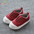 Baby Boys Casual First Walker Shoes Little Girls Canvas Shoes Children Breathable Sneakers Kids Sports Shoes C180