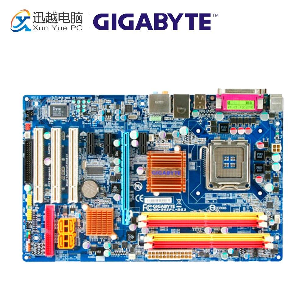 Gigabyte GA-945PL-DS3 Desktop Motherboard 945PL-DS3 945PL LGA 775 DDR2 Micro ATX весы garin ds3 1cr2032