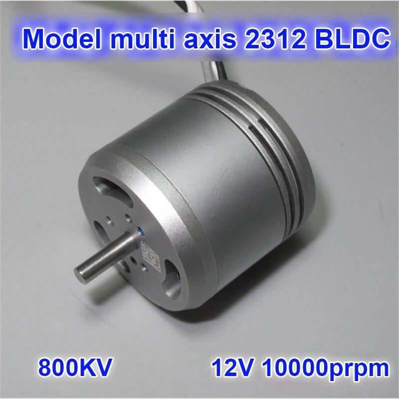 цена на 3mm axis 2312 four axis UAV external rotor mode 800KV brushless motor 12V 10000rpm