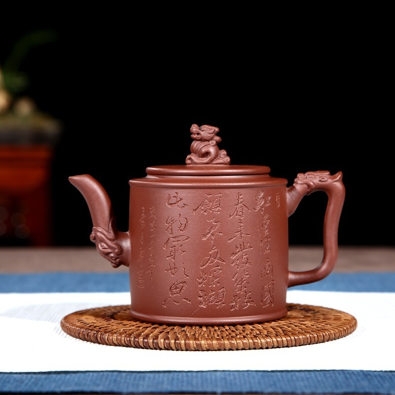 Pot of special offer direct selling yuan gift box can DGU30D0 violet arenaceous yixing daily provisions tea kettlePot of special offer direct selling yuan gift box can DGU30D0 violet arenaceous yixing daily provisions tea kettle