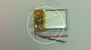 SBH20 3.7V polymer lithium battery 381424 Bluetooth LED light micro camera 100mAh Rechargeable Li-ion Cell
