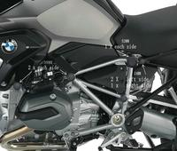 S UYUE Modified Fits BMW R1200GS Water Cooled LC 2013 ON GSA 2014 ON Frame Decorative
