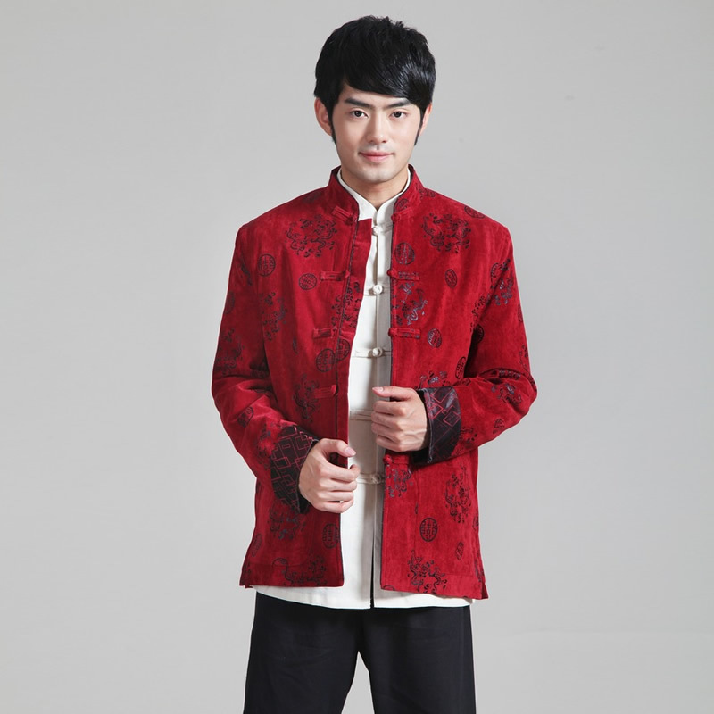 ab7f468af9 Wholesale New Jacket Tradition Traditional Chinese Oriental Mens Clothing  Cheongsam Shirt Kung Fu Clothes Tang Homme