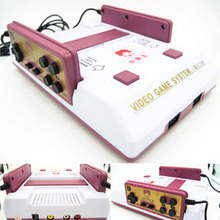 New Classical family game box TV game console 8bit TV game 80 yesrs after console with 400 different game