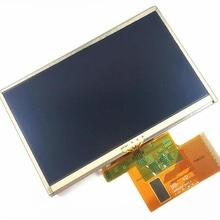 Free shipping 5 inch LMS500HF05-002 For TomTom XXL 310 Full GPS LCD display screen with touch screen digitizer panel