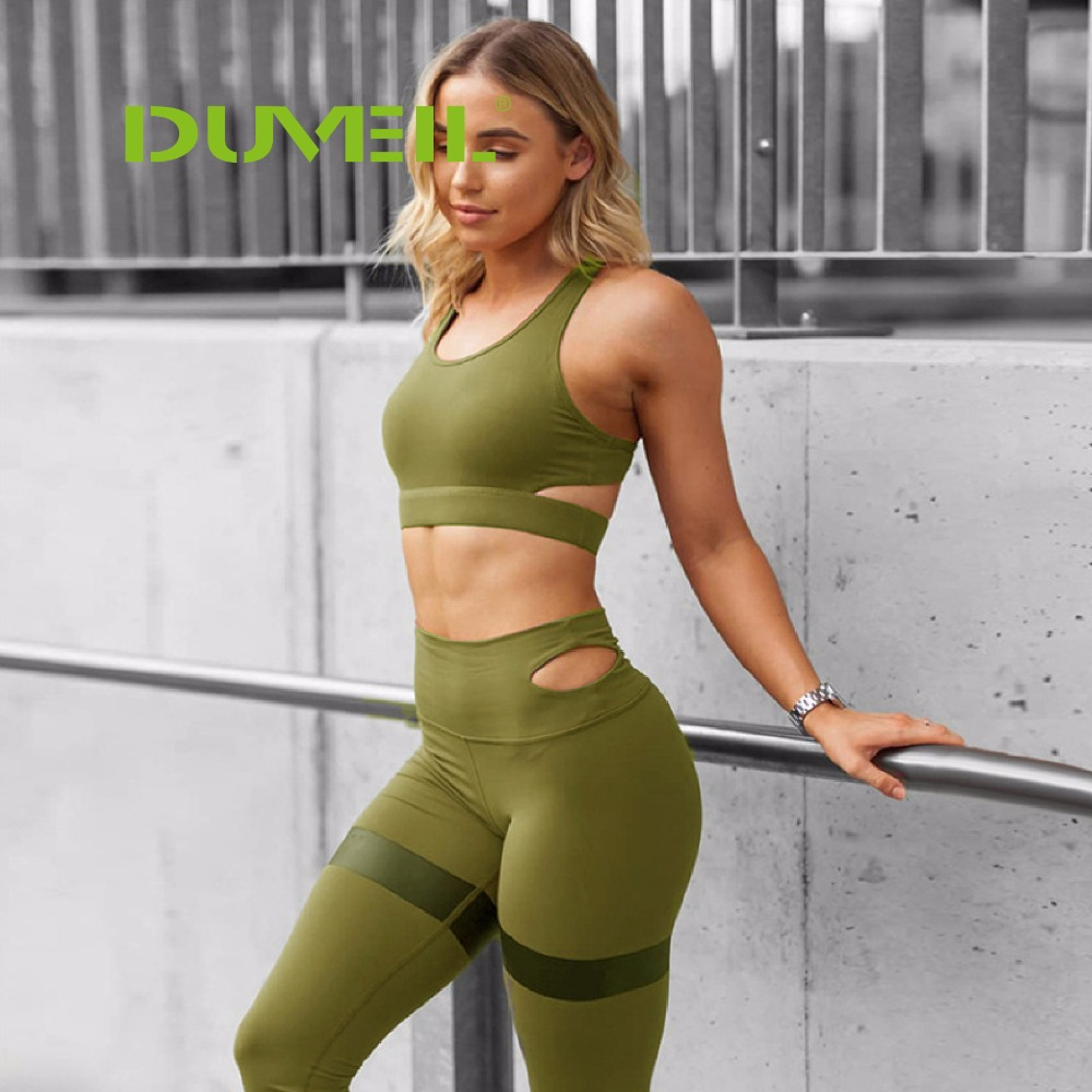 Women Tank Top Vest Full Length Leggings Set Ladies Gym Yoga Outfit Size S-XL
