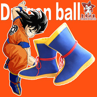 Dragon Ball Z son goku Boots Anime Cosplay Shoes Halloween Party Cos Boots