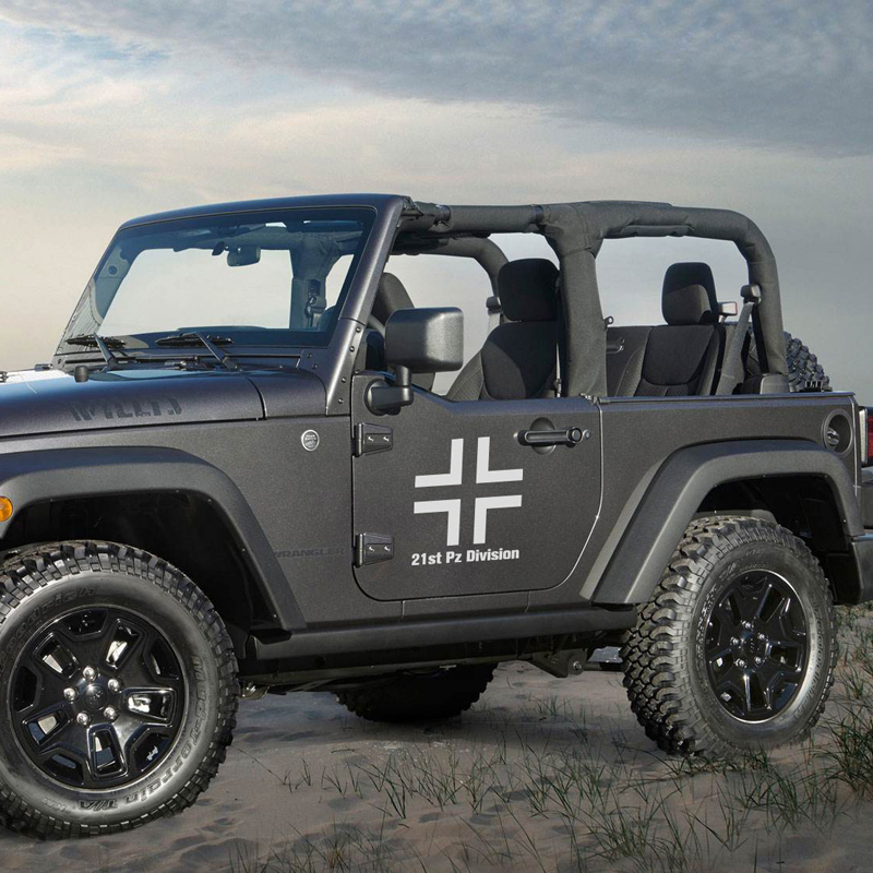 Noizzy 21st Pz Division Military Ho Black Cross Vinyl Reflective Car Sticker Auto Decal Door Rear Windshield Tuning Car-Styling junction produce jp luxury reflective windshield sticker ho car auto motorcycle vinyl diy decal exterior window body car styling