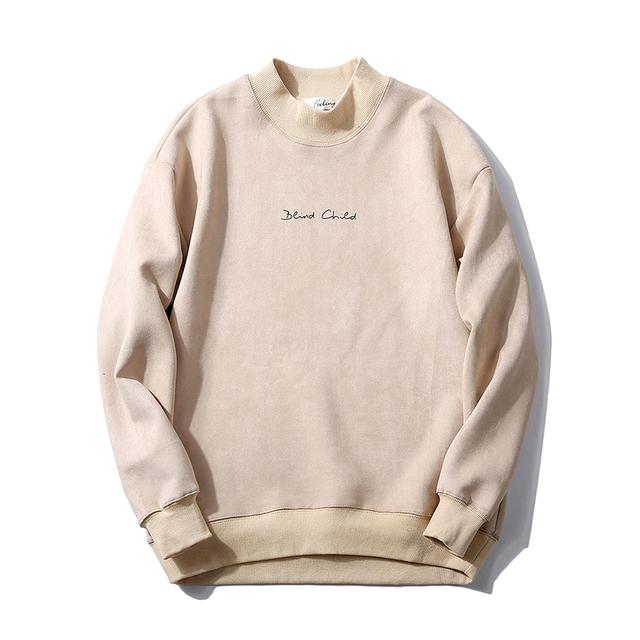 Tsingyi Pullover Suede Solid Hoodies Men Women O-neck Streetwear Hip Hop Revenge Hoodie Sweat Homme Kanye Hoodies Sweatshirts
