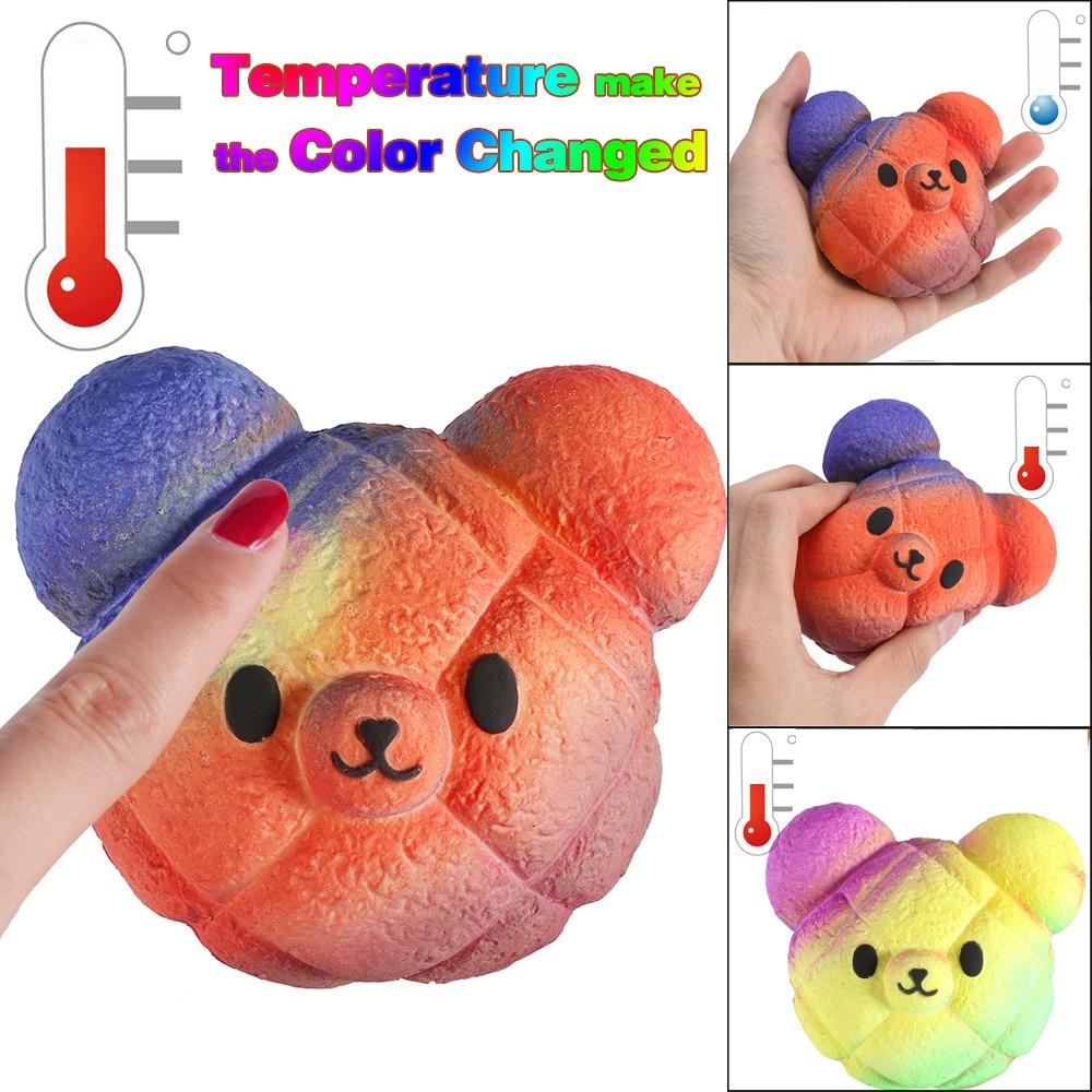 Color Changing Bear Bun Squishy 1