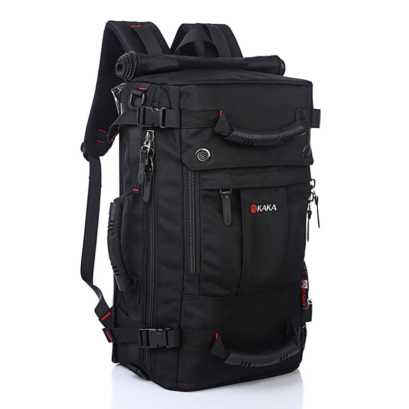 2016 Men Travel Bags Large Capacity 40L Leisure Multifunction Laptop Backpack Waterproof Nylon Backpacks Schoolbag
