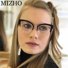 Okulary komputerowe jasne anty promieniowanie promieniowania promieni Gamin ramki okularów optyczne Cleaner anti okulary do niebieskiego światła kobiety Cat eye
