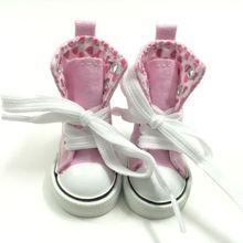 6 см игрушка загрузки BJD кукла обувь для куклы Paola Reina, 1/3 BJD куклы обувь спортивная парусиновая обувь для куклы аксессуары 12 пара/лот