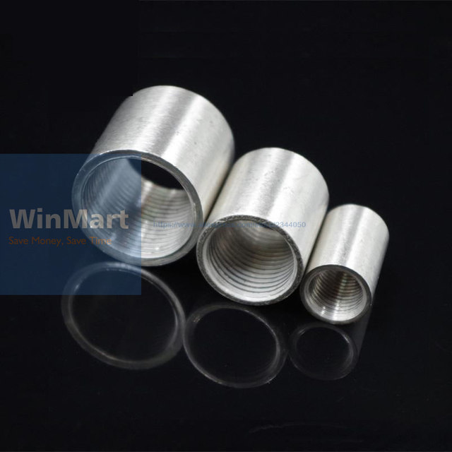 1 Pc SS304 BSP 2  INCH DN50 Female Threaded Pipe Fitting Stainless Steel Pipe Fitting Full Socket Round Connector & Online Shop 1 Pc SS304 BSP 2