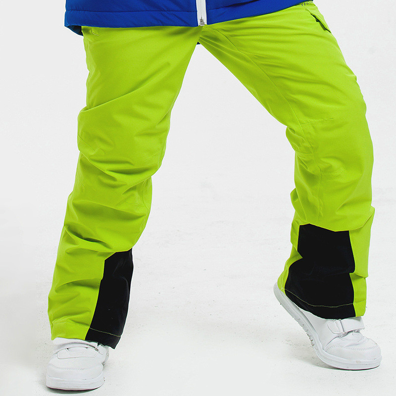 Outdoor children's ski pants warm and breathable boys and girls wear resistant children's ski pants стоимость