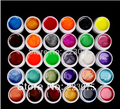 DIY New 30 PCS Mix Colors Pearls UV Builder Gel Acrylic Set for Nail Tips Nail Art