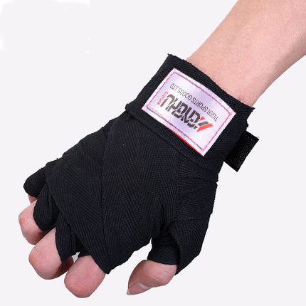 HAND WRAPPING FOR MMA KICKBOXING SPORTS TRAINING