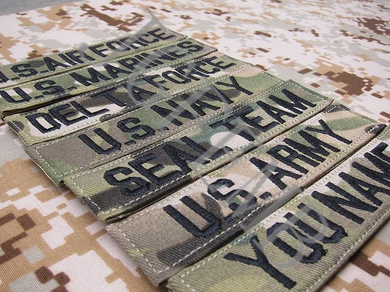 Custom Military Embroidery