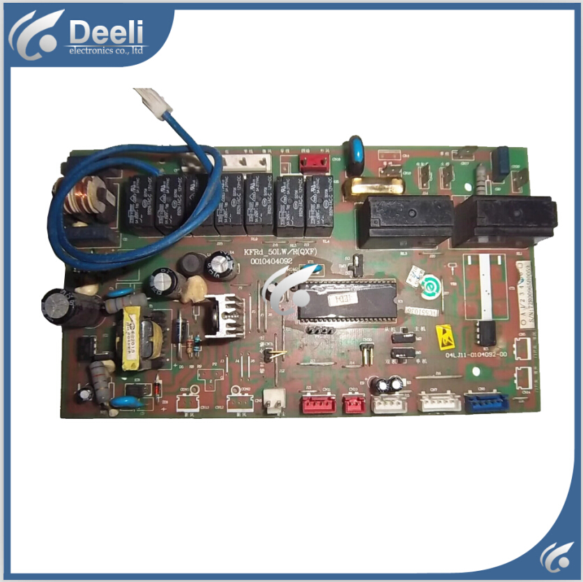 95% new good working for Haier Air conditioning computer board KFRD-50LW/R(QXF) 0010404092 circuit board 95% new for haier refrigerator computer board circuit board bcd 198k 0064000619 driver board good working