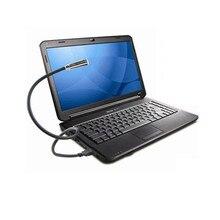Mini  Flexible USB LED Light Torch Flashlight Portable For PC Laptop Notebook Computer Keyboard Night Reading Lamp White/Black
