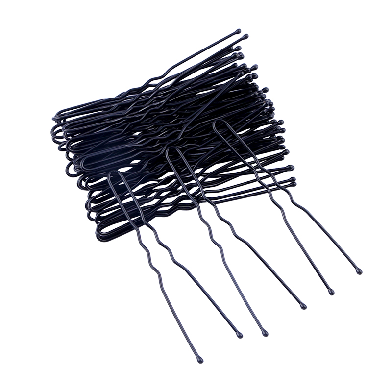 60pcs U Shape Hair Clips Bobby Pins For Hair Styling Tools Accessories Clip Hairpins Metal Barrettes For Women Girls Bride 6cm