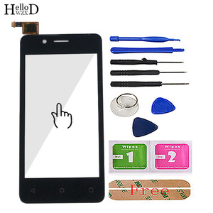 """Image 2 - 4.0"""" Mobile Touch Screen For Fly FS408 Stratus 8 Touch Screen Glass Digitizer Panel Lens Sensor Glass Tools Adhesive Wipes"""