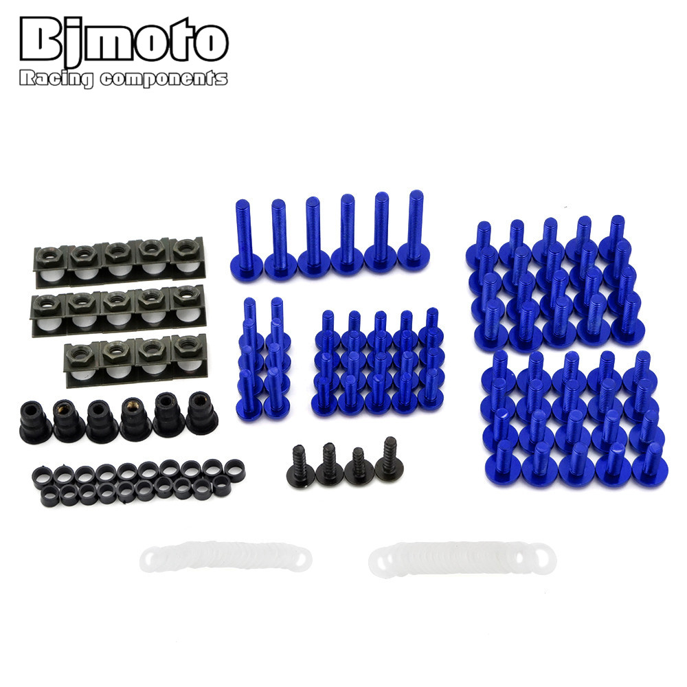 Motorcycle Scooters Fairing Body Bolts Spire Speed Fastener Clips Screw Spring Bolots Nuts For Yamaha MT07 MT09 Tmax FZ1 FZ6 FZ8 20x 6mm motorcycle accessories fairing body work bolts for yamaha mt 09 mt09 07 sj6n xj6 fz6 sj6s fz6s fz6 fazer tmax 530 500