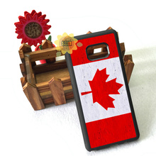 flag canada fashion silicone edge case for samsung s3 s4 s5 s6 s6edge plus s7 s7edge s8 s8plus note2 note4 note5 cover(China)