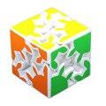 2016 Nuevo 2 Capas de Engranajes Cubo Mágico 6 cm 3D Rompecabezas cubos de Juguetes educativos Juguetes Especiales Blanco mágico profissional Embroma el Regalo-50