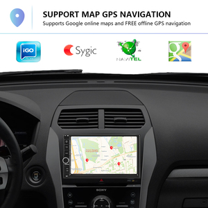 Image 3 - Podofo Android Car Multimedia Player 2 DIN 7 Touch Screen วิทยุบลูทูธ MP5 Player WIFI วิทยุ FM