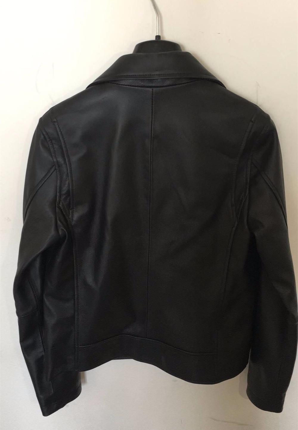 En Qualité Chic Cuir Haute Noir Moteuramp; Vestes Designer 2018 Peau S489 Femmes Automne Printemps Biker Nouveau Mouton Manteau De I92eDEHWY