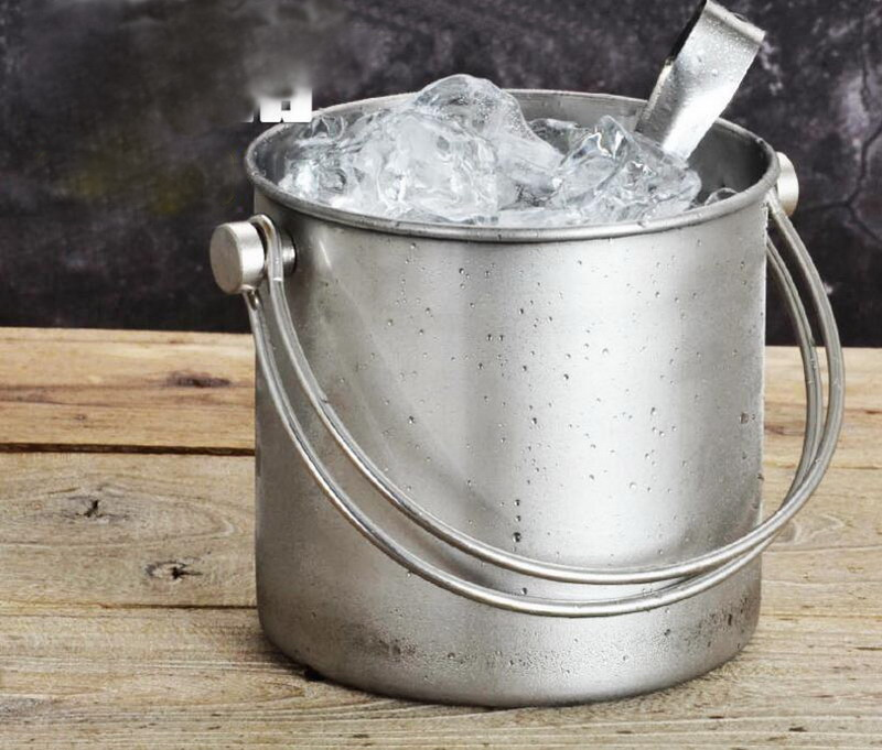 304 Stainless steel Double layer ice bucket quality stainless steel wine ice storage bar buckets 2L eagles their greatest hits 1971 1975 виниловая пластинка