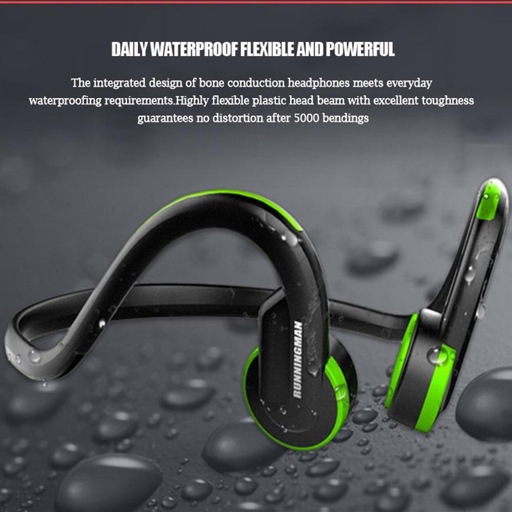 Filaire Conduction Osseuse Casque 3.5mm Sport Écouteurs Crochet D'oreille Casque Stéréo Extérieure Écouteurs Mini Auriculares Pour iPhone Xiaomi