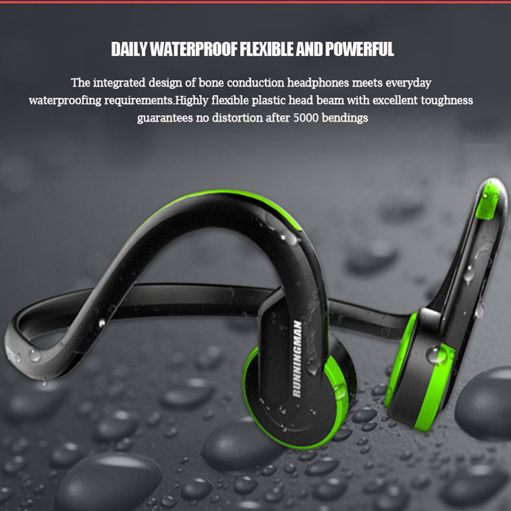 Wired Bone Conduction Headphone 3.5mm Sport Earphones Ear Hook Headset Outdoor Stereo Earbuds Mini Auriculares For iPhone Xiaomi dual drive stereo earbuds 3 5mm silicone in ear earphones sport wired ear hook earphone with microphone for huawei xiaomi iphone
