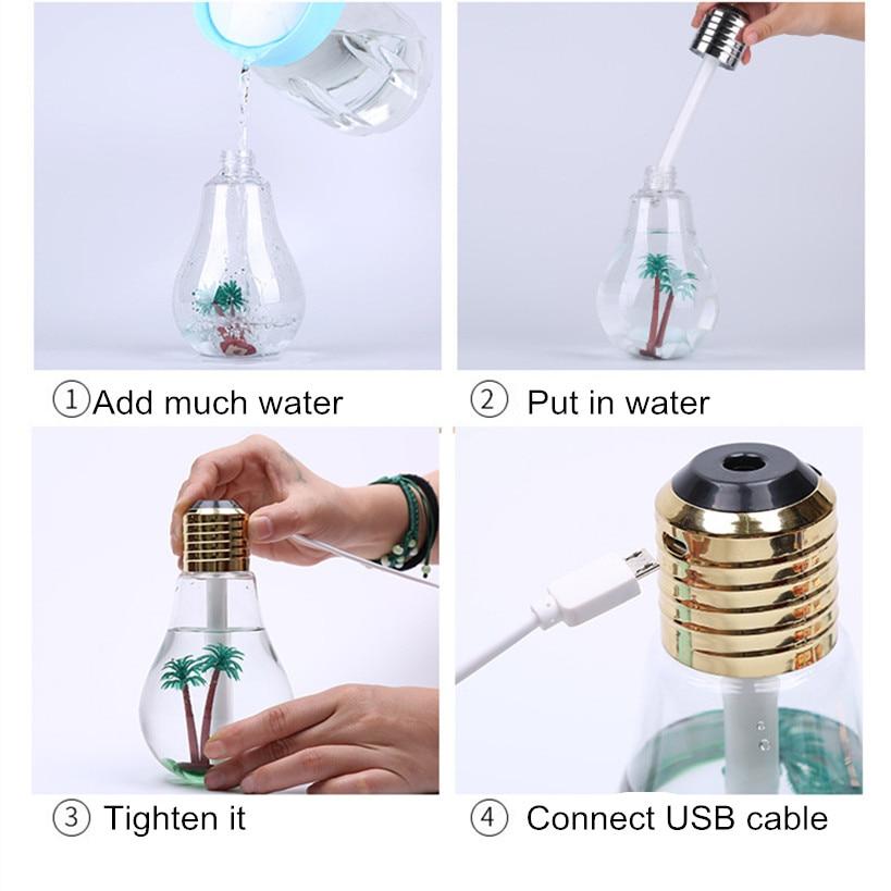 400ML էլեկտրական լամպ եթերայուղային - Կենցաղային տեխնիկա - Լուսանկար 5