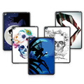 "Luxury Tablet Case For iPad 234 PC Hard Back Case For iPAD 9.7"" Tablet Case Moonlight / Skull Pattern Case Cover Support DIY"