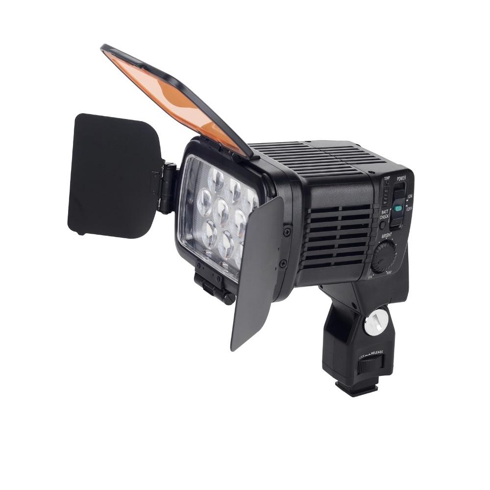 20 W 10 LED możliwość przyciemniania ciągłe lampa światła LBPS 1800 dla kamery wideo DSLR DV w Oświetlenie fotograficzne od Elektronika użytkowa na AliExpress - 11.11_Double 11Singles' Day 1