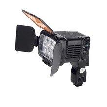 20 Watt 10 LED Dimmbare Kontinuierliche Lampe Licht LBPS-1800 für Camcorder Videokamera DSLR DV