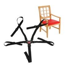 Baby Seat Belt 5 Point Harness Kids Safe Belt Seat For Stroller High Chair Pram Buggy Children Kid Pushchair 360 Rotating Hook
